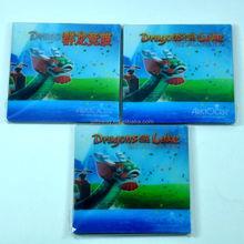 Alibaba China manufacturer promotional PET 3D cup pad/ coaster