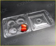Elegant big volume blister packaging fruit box, plastic paper container