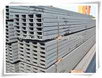 Hot rolled U beam section profiles carbon steel channel bar