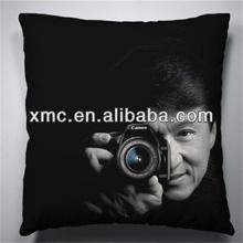 Wholesale customized Photo print cushion ,DIY gift pillowcase based on your design