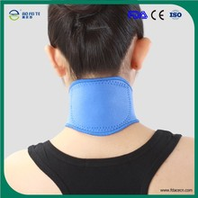 2015 new !neck physical therapy support wrap warmer neck wrap with 20 magents