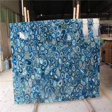 natural dyed semi precious agate stone slabs for new fashion furniture and home decoration