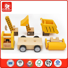 new kids toys for 2015 Construction vehiclesset kids learning toys educational wooden baby toy classic train toys