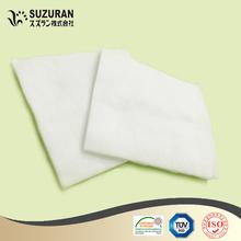 Cosmétiques carrés pads 10 cm x 10 cm 125gsm moins cher coton