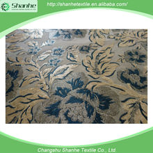 Hot China products wholesale printing plush and brush fabric