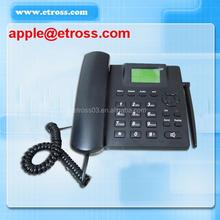 Good quality Landline telephone with 1 sim card ets-6188