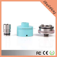 2015 the newest large stock color blue Nectar Nano Style Rebuildable Dripping Atomizer vision spinner dry herb e cig