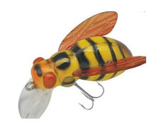 super wholesale insect honeybee/bee topwater lure baits hard insect bee baits fishing