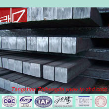 80-150mm square high quality continous casting/hot rolled 3SP/5SP steel billet