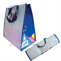 Fashion foldable laminated non woven bag
