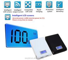 Universal Power Bank 12000mah LCD Screen Dual USB Portable Charger Mobile Power bank