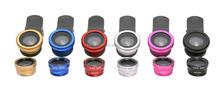 Alibaba supplier aluminum fisheye clip lens 2015 products