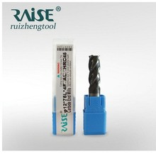 3-flute flattened cnc end mils /end millswith straight shank;cutting tools;end mill carbide