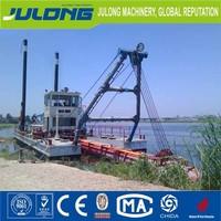 high efficience river dredging barge for sale
