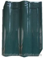 Green/blue/red/coffee brown/steel gray kerala ceramic roof tile