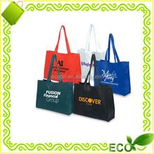 fashionable reusable eco-friendly BOPP laminated gravure printing pp non woven bag