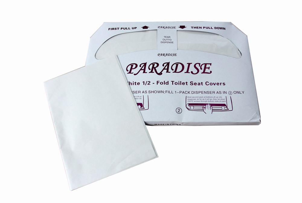 Disposable Hygienic Paper Pe Film Toilet Seat Covers