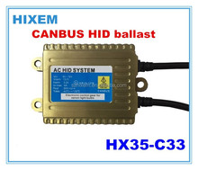 universal 35w canbus hid ballast, solve canbus problem for all cars