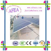 2015 pv sharp solar panels\/roof mounting bracket ,ground mount solar racking,solar ground steel mounting,