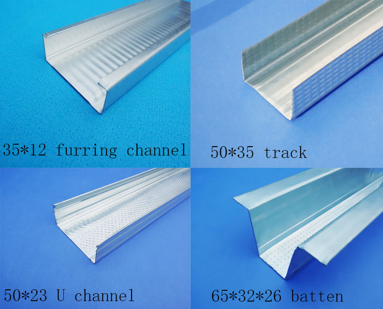 Drywall Metal Stud Framing Size : Malaysia steel stud track drywall framing profile systems