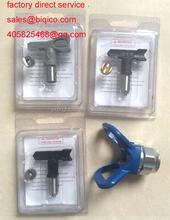 Graco RAC5 XHD grey black or blue spray nozzle Tip 211 219 311 415 517 519 with guard Extension Pole of Paint Spray Gun Parts