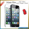Anti-glare for iPhone 5/5s matte Screen Protector,Anti-scratch,Anti-reflection,fingerprint proof