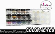 Wholesale Christmas new design waterproof makeup loose eyeshadow shimmer powder)