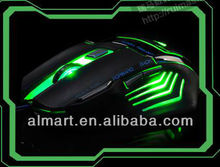colorido 6d gaming mouse con cambiable dpi