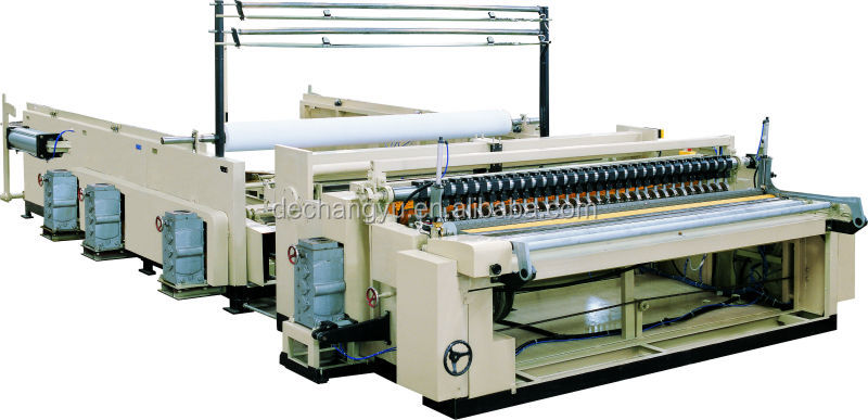 Industrial roll slitting rewinder ZQ-III-D