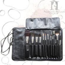 High quality cosmetic brush set with bag