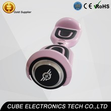 Pink 4.4 mAH battery Self Balancing Electric Scooter Two Wheels Mini Smart Skateboard Bike
