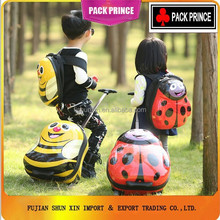 Children lovely luggage school bag/kids hard shell ABS/PC luggage