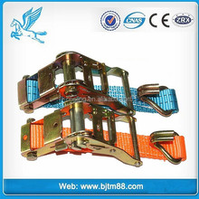 container ties, automotive tie downs, 3inch ratchet tie down, 50mm / 4t / 5t ratchet tie down lashing strap