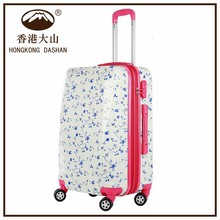 AT8069 HKDASHAN travel luggage suitcase colorful hard shell luggage