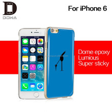DOME skin gel epoxy mobile cover for iphone 6