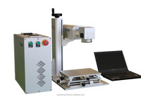 China electrical and electronics 20w portable fiber laser marking machine for industry engraving machine