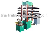 Rubber tile hydraulic daylight press
