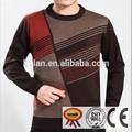 2015 venta caliente baratos patchwork suéter suéter de los hombres