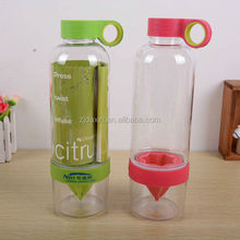 The newest water bottle with fruit infuser /fruit infuser water bottle,tritan water bottle with fruit infuser