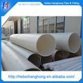 Tubo de pvc com diâmetro grande de 500mm para fornecimento de água, cano de plástico com diâmetro grande, tipos de tubos de água de plástico
