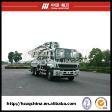 2015 Export to Singapore -- ISUZU 4R37M (Germany Rexroth Hydraulic System) SERMAC Technology Concrete Pump Truck