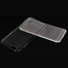 For iphone 6 clear tpu case Crystal Clear Transparent Soft Silicon 0.3mm TPU Case for phone case