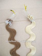 micro ring human hair loop extension
