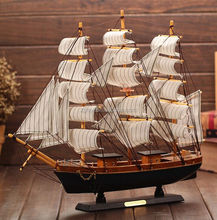 wooden handicrafts 130cm size antique tall model ship