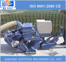 Movable sandblasting machine, protable shot blasting machine, floor tile shot blasting machine