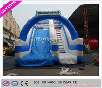 China water slide, long water slide water park equipment price jumping castle for sale