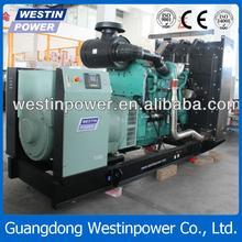 568 kva / 455kw grupo electrógeno diesel mtu piezas del motor