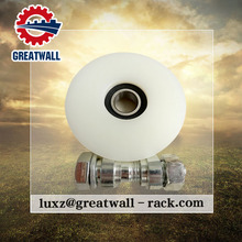 Fishing Pulley U Groove customized Nylon pulley wheel deep groove ball bearing with high quality with bolt and nut wheel