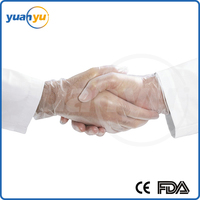 12% Off High Quatity Cheap Price Disposable vinyl gloves YY-00182 with FDA&CE Certificate