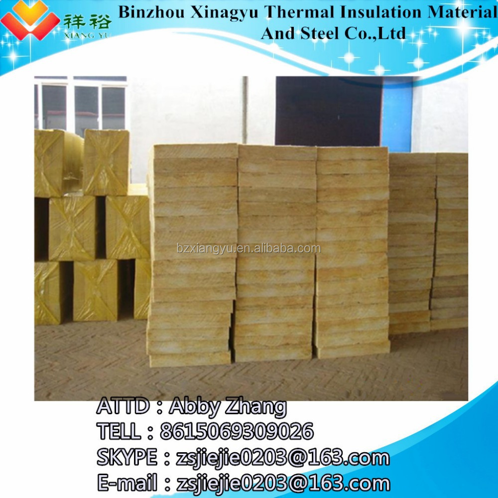Rock wool rock mineral wool insulation with good fireproof for Mineral wool wall insulation